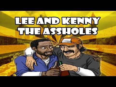 Lee and Kenny the Assholes - The Walking Dead Game (Best Friends Forever)