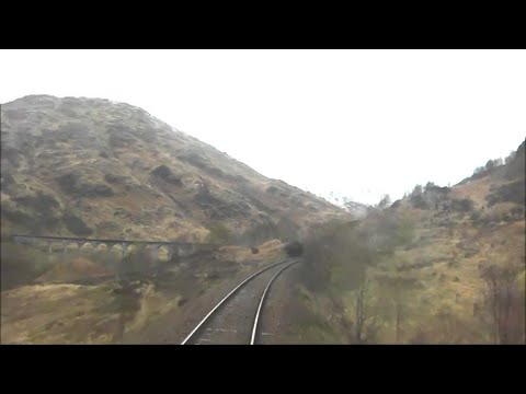 Mallaig to Fort William | Rear Cab View!