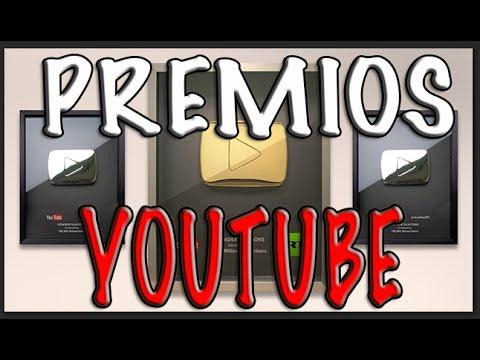¿Que Premios Da Youtube por ser Youtuber con varios Suscriptores? BOTON ORO PLATA | BRONCE