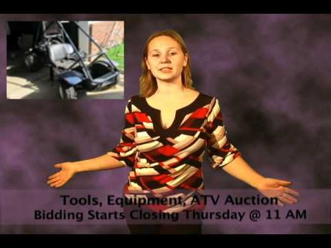 Tools, Equipment, ATV Auction