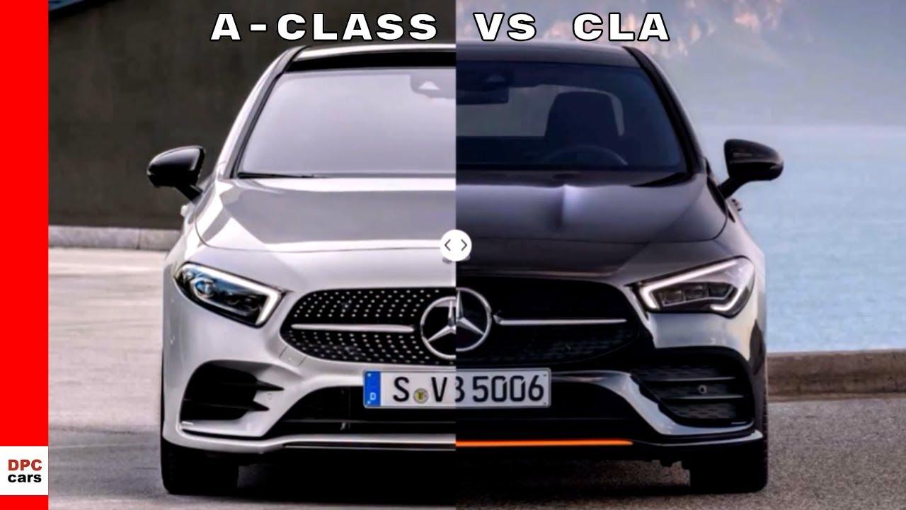 2020 mercedes cla vs 2019 a-class