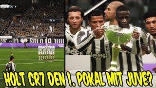 Holt C. RONALDO seinen 1. POKAL mit Juve im FINALE? ⚽ Fifa 18 19 Karrieremodus Juventus Turin 7