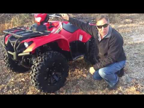 Yamaha Kodiak 700 -- Three Quick Things