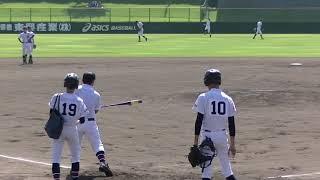 【高校野球】宝塚東シートノック『2018秋季兵庫県大会・1回戦』
