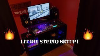 Gambar cover DIY DJ Booth! | Making A DJ Studio For My Room! | DJ Desk Under $200! | Studio Tour!