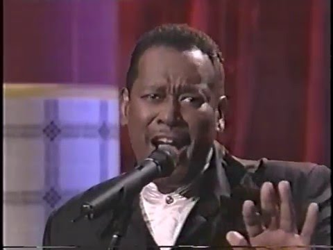 "LUTHER VANDROSS ""I Can Make It Better"""