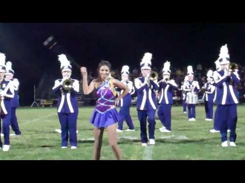 Berkshire High School Marching Band Batonist Samantha Kaiser