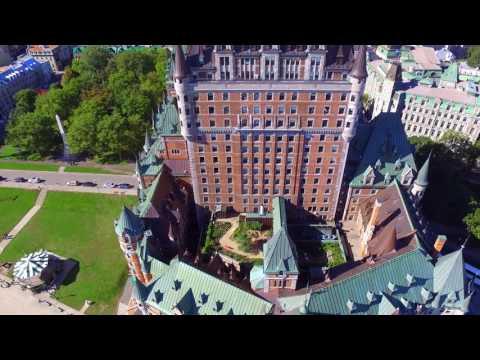 Quebec City Travel Drone Footage DJI Phantom