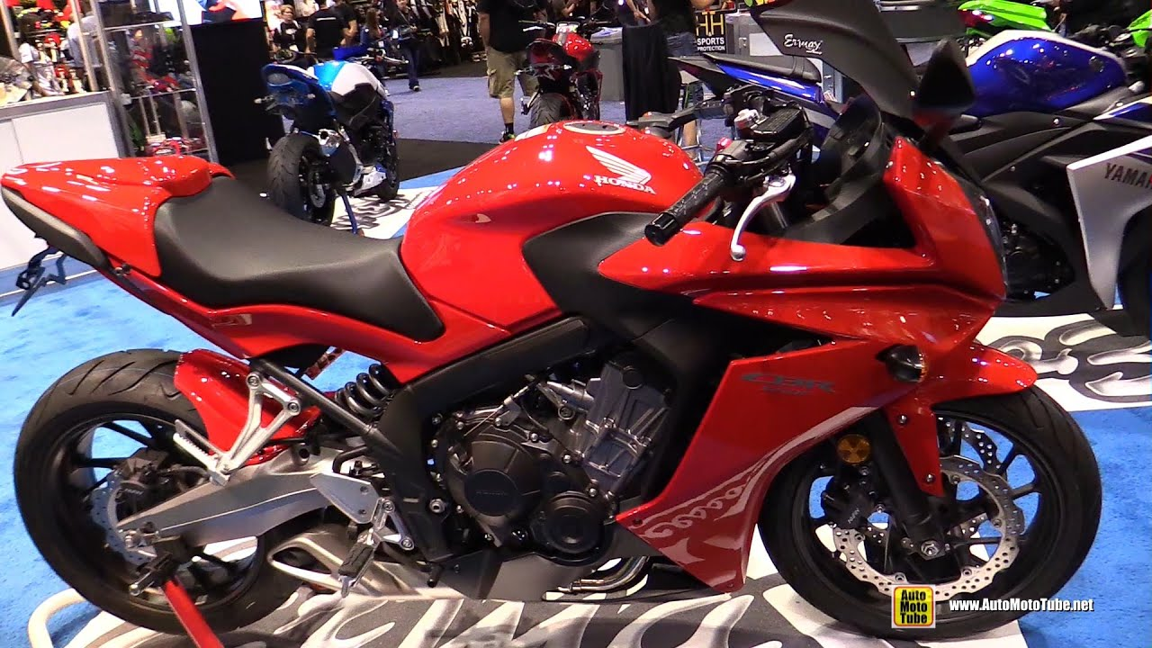 2016 Honda CBR650F Customized by Ermax - Walkaround - 2015 AIMExpo Orlando - YouTube