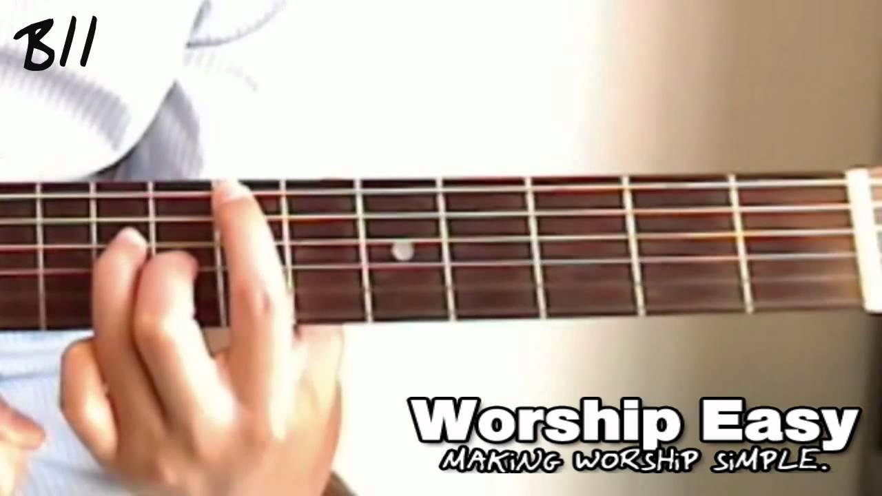 The B11 Chord Guitar Youtube