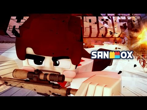 팀대항 초현실 스나이퍼 직업 배틀!! [스나이퍼 배틀 오리진: 마인크래프트] Minecraft - Sniper Battle - [도티]