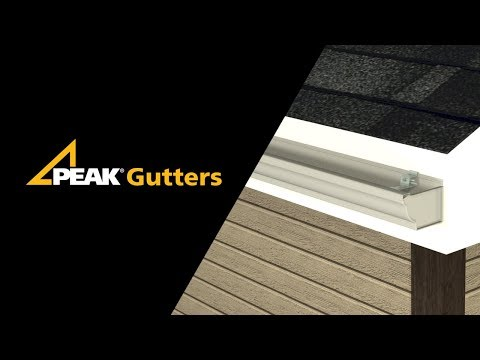 Peak Gutters Installation
