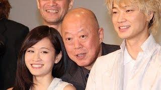 六平直政「あっちゃんときらめくような親子の愛を」 舞台「太陽2068」製作会見(2)
