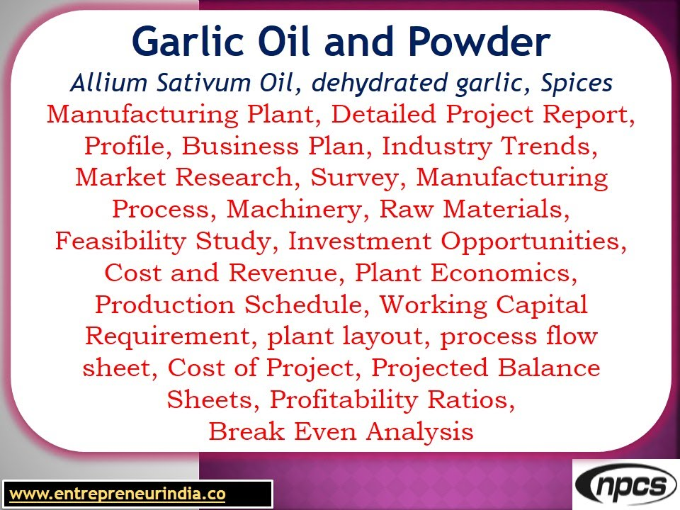 Garlic Oil And Powder, Allium Sativum Oil, Dehydrated Garlic