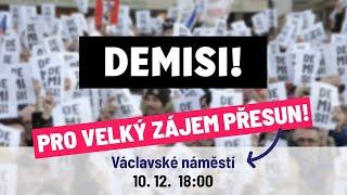 Demisi Andreje Babiše! - 10. 12. 2019 - Živý přenos