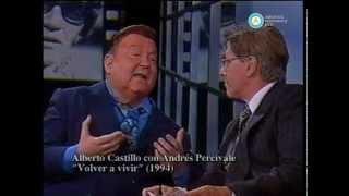 """""""Los capos del tango"""": Alberto Castillo, 2002"""
