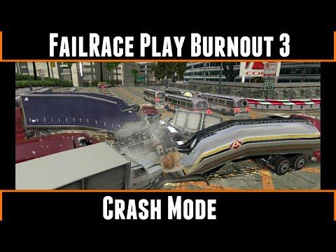 FailRace Play Burnout 3 Crash Mode