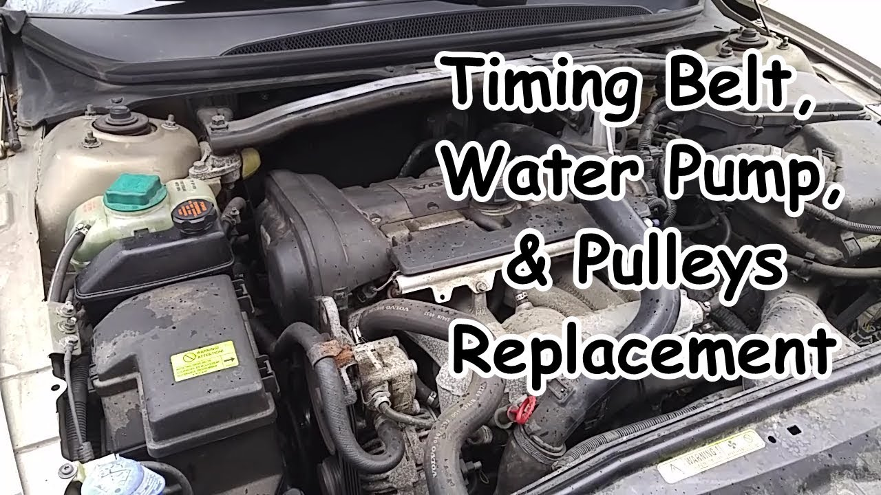 [WLLP_2054]   Volvo S80 Timing Belt, Water Pump, & Pulleys Replacement - YouTube | Volvo S80 2 9 Engine Diagram |  | YouTube