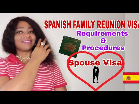 HOW TO APPLY FOR A FAMILY REUNION VISA/SPOUSE VISA.