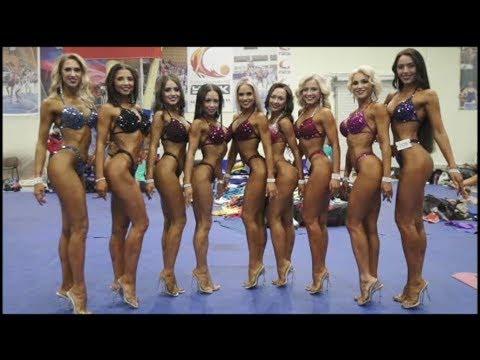 Выпускной VI потока школы фитнес бикини. #MukminovaTeam на кубке Урала по Бодибилдингу ФББР