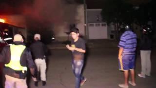 Se incendió una casa en calle 13 entre 34 y 36