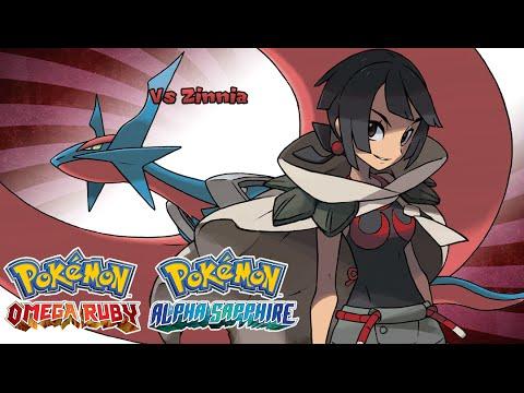 Pokemon Omega Ruby/Alpha Sapphire - Battle! Zinnia Music (HQ)
