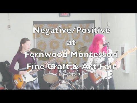 Negative/Positive MKE at Fernwood Montessori School Fine Art & Craft Fair