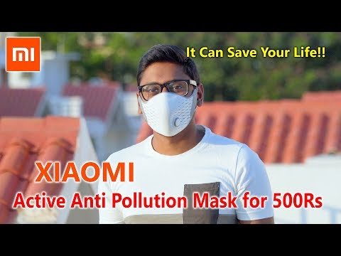 Xiaomi AirPOP Active Anti Pollution Mask Review! It can Save Your Life...