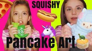 Squishy Pancake Art Challenge | Coco Quinn