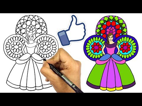 تعليم الرسم للاطفال   تعلم رسم عروسة المولد خطوة بخطوة للمبتدئين