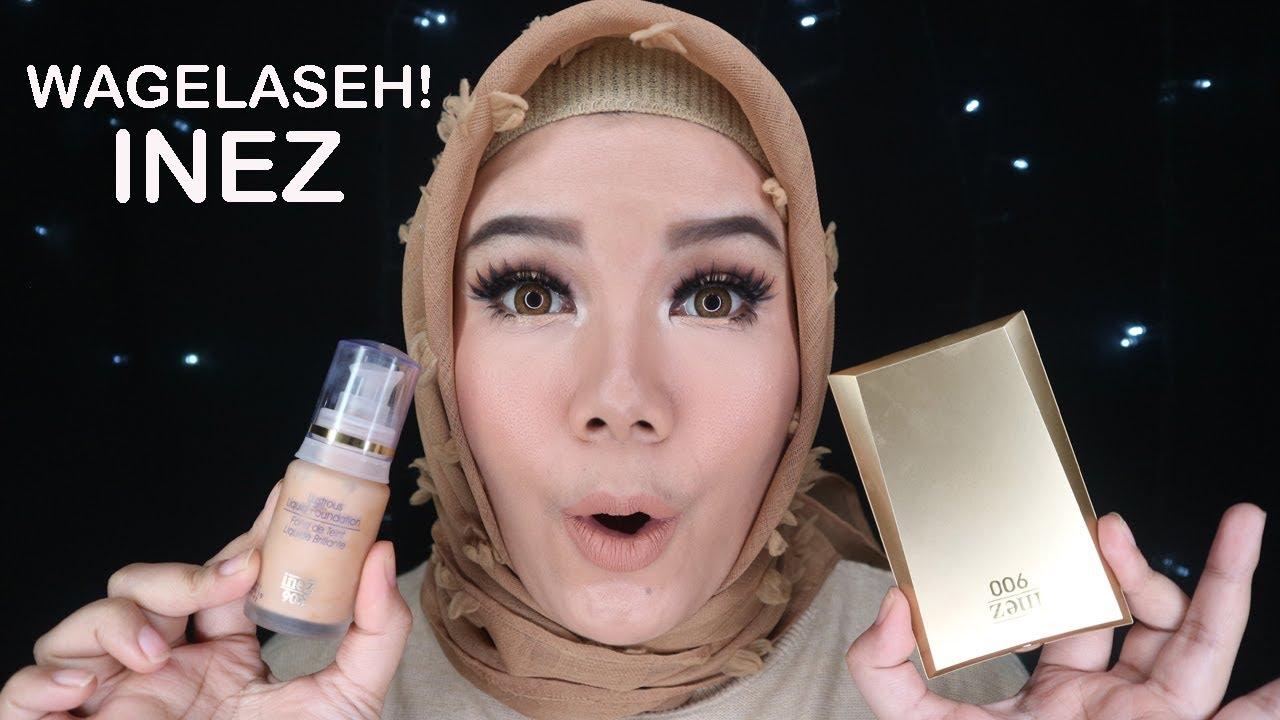 inez cosmetics one brand makeup tutorial 2 nyobain produk