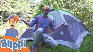 Download lagu Blippi Visits A Camp Site | Learning How To Camp | Educational Videos  For Kids