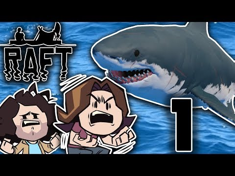 Raft: Stranded With A Shark - PART 1 - Game Grumps