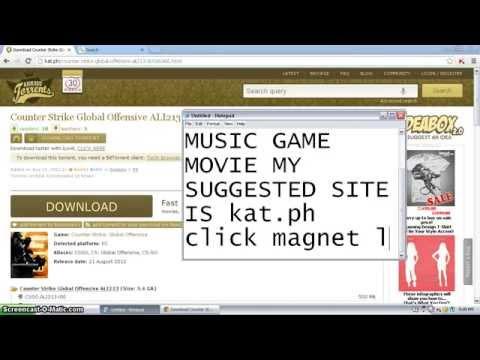 download free movies, games, music using u torrent