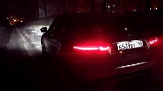 Взял Jaguar E-Pace - ночью светит обалдеть!