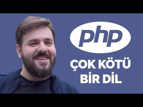 PHP Çok Kötü Bir Programlama Dili - Yazılımcı Sohbetleri (Emir Karşıyakalı)