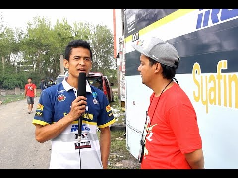Rafid Topan ( Yamaha Syafina ) Juara Region MP2 Motorprix Jawa 2017
