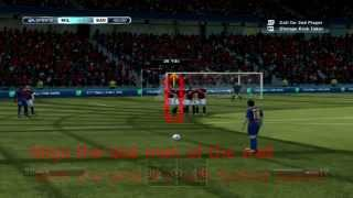 FIFA 13 FIFA 14 PC BASIC FREE KICK TUTORIAL   KEYBOARD   YouTube