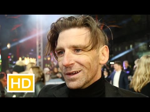 Paul Anderson at The Revenant premiere on playing bad guys, Alan Rickman