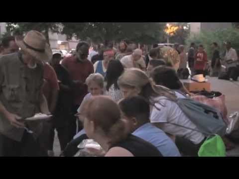 Houston Food Not Bombs: Civil Disobedience in August with City Council Member Helena Brown