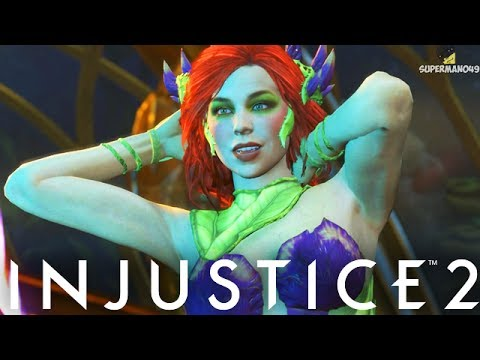 """THE MOST BEAUTIFUL POISON IVY! MAGIC PIXEL CLUTCH - Injustice 2 """"Poison Ivy"""" Gameplay"""