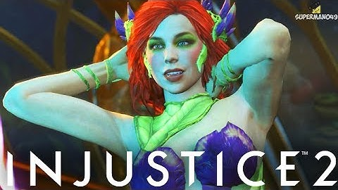"THE MOST BEAUTIFUL POISON IVY! MAGIC PIXEL CLUTCH - Injustice 2 ""Poison Ivy"" Gameplay"