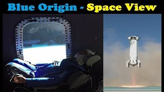 Blue Origin sends Mannequin to Space - Onboard View | Crew Capsule 2.0 (Largest Windows in Space)