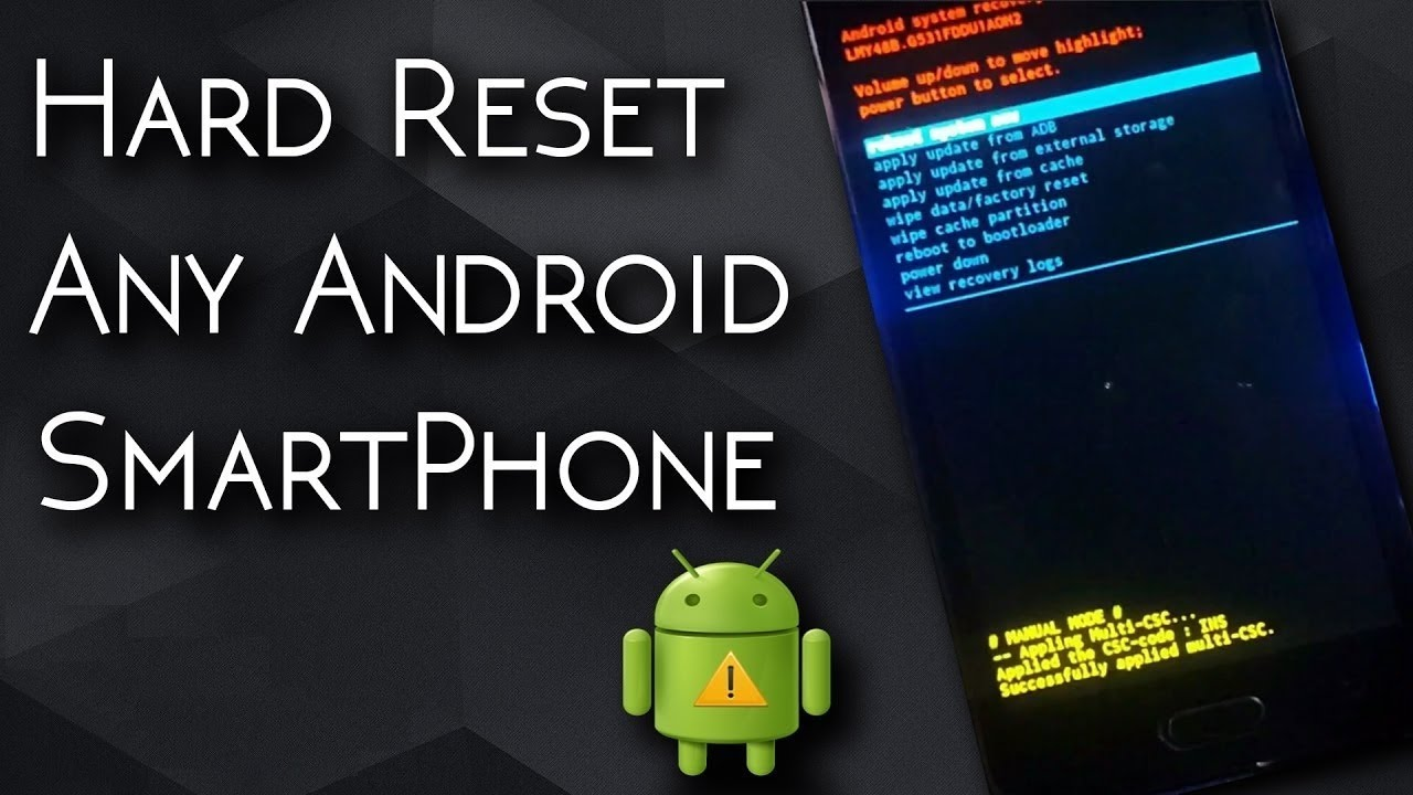 How to factory data reset redmi note 3vivo v5 samsung phone how to factory data reset redmi note 3vivo v5 samsung phone hard resetrestoreformat any android ccuart Image collections