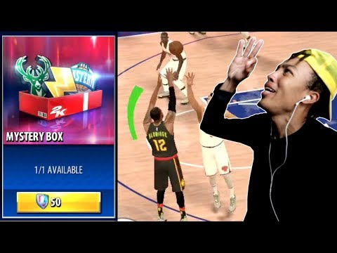 OPENING NEW MYSTERY BOX & GREEN RELEASES ADDED! (NBA 2K MOBILE)