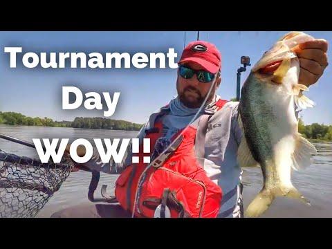 Tournament Day - My First Kayak Bass Fishing Tournament