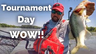 Tournament Day - My First Kayak Bass Fishing Tournament