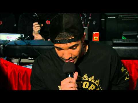 Drake Introduces The Toronto Raptors' Starting Lineup