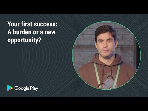 Your first success: A burden or a new opportunity (Games track - Playtime EMEA 2018)