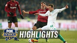 Hannover 96 vs. Werder Bremen | 2018-2019 Bundesliga Highlights